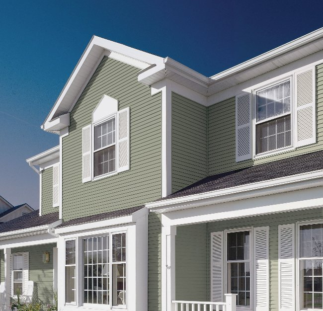ComfortWorld vinyl siding in Springdale and Fort Smith, AR
