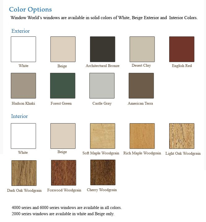 Window paint and stain options in Springdale and Fort Smith, AR