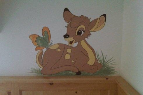 Una decorazione per la camere di un bambino.