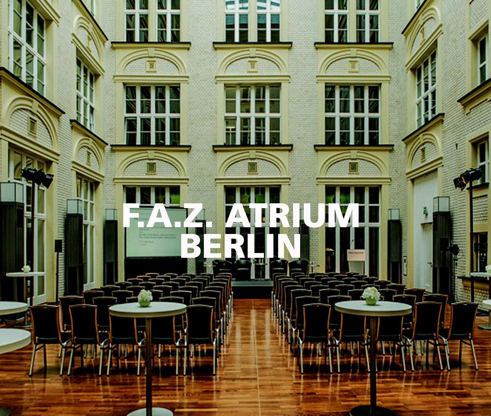 FLORIS Partner Location FAZ Atrium Berlin