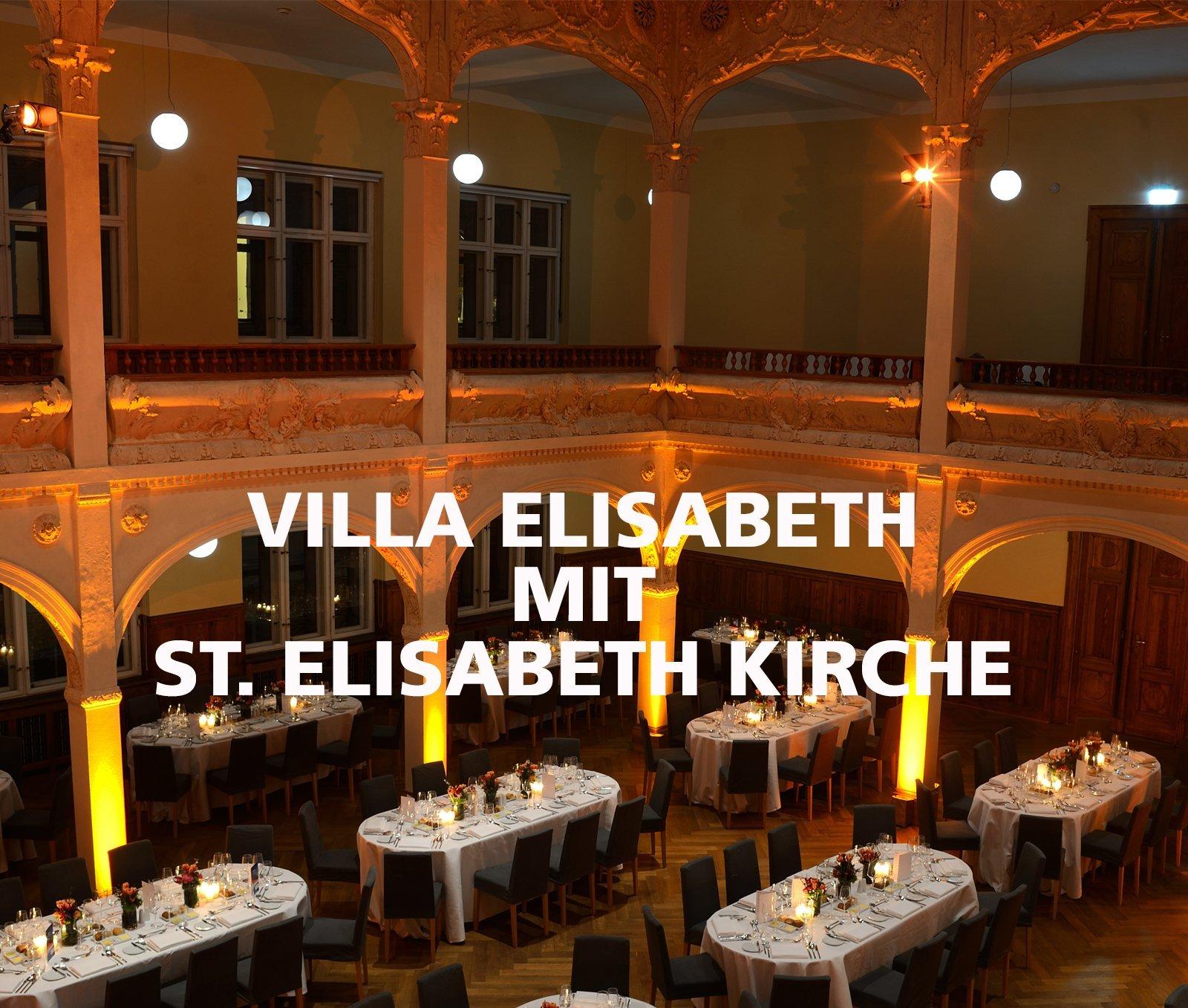 FLORIS Partner Location Villa Elisabeth mit Kirche