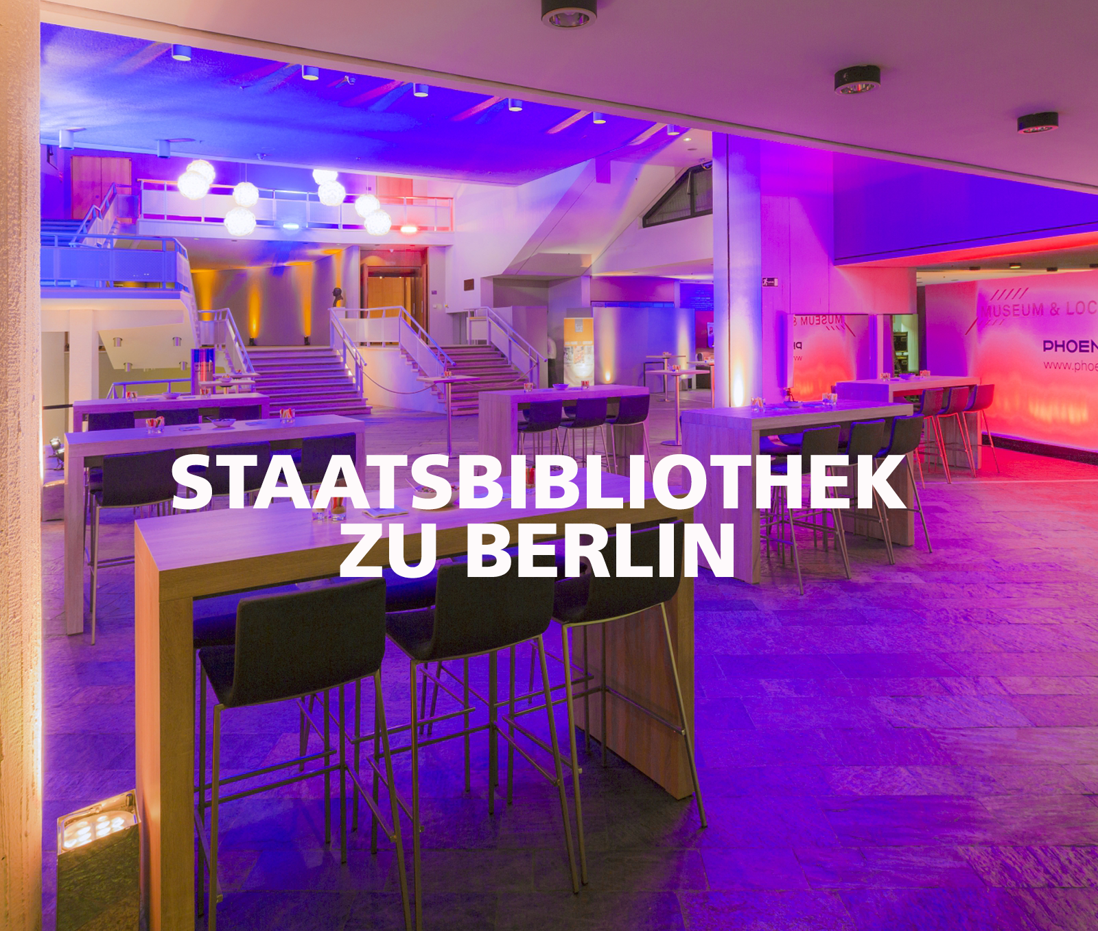 FLORIS Partner Location Staatsbibliothek zu Berlin