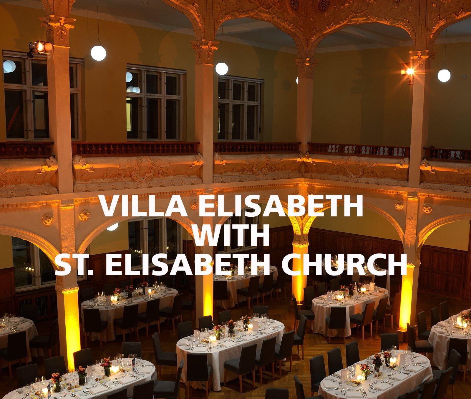 FLORIS Partner Location Villa Elisabeth with Church
