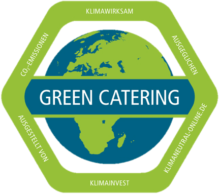 FLORIS Greencatering klimaneutral Öko Bio Catering