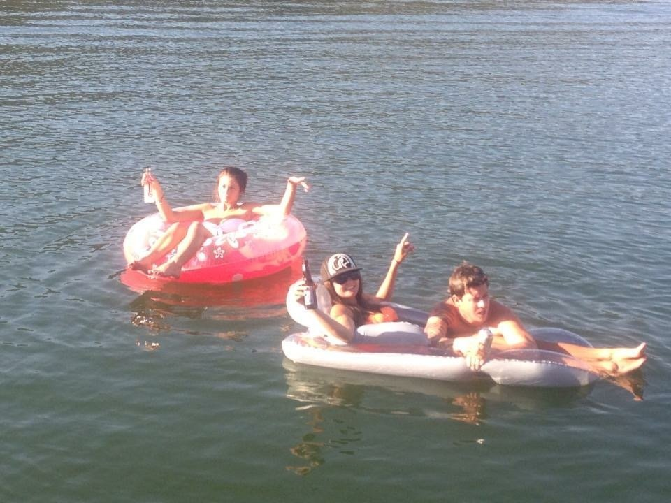 Kids enjoying in water