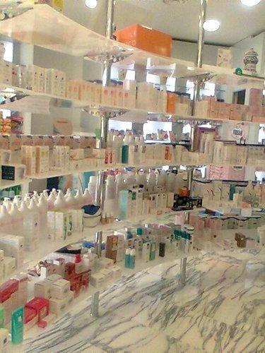 Espositore per farmacia
