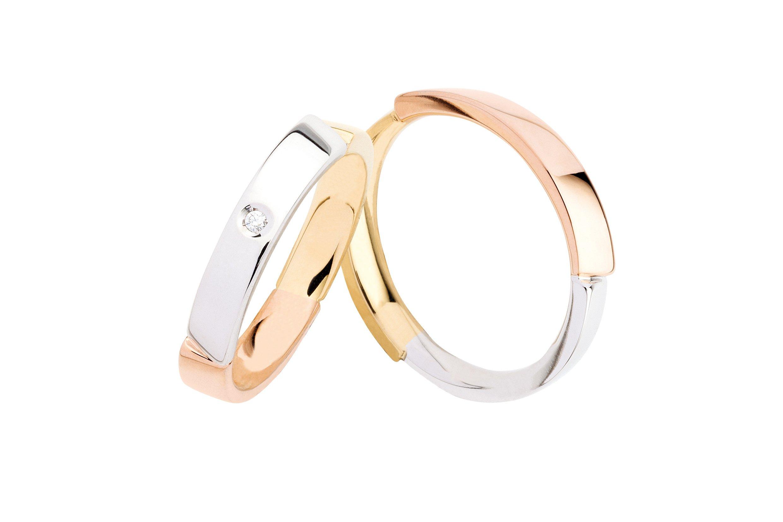 anelli in due colori