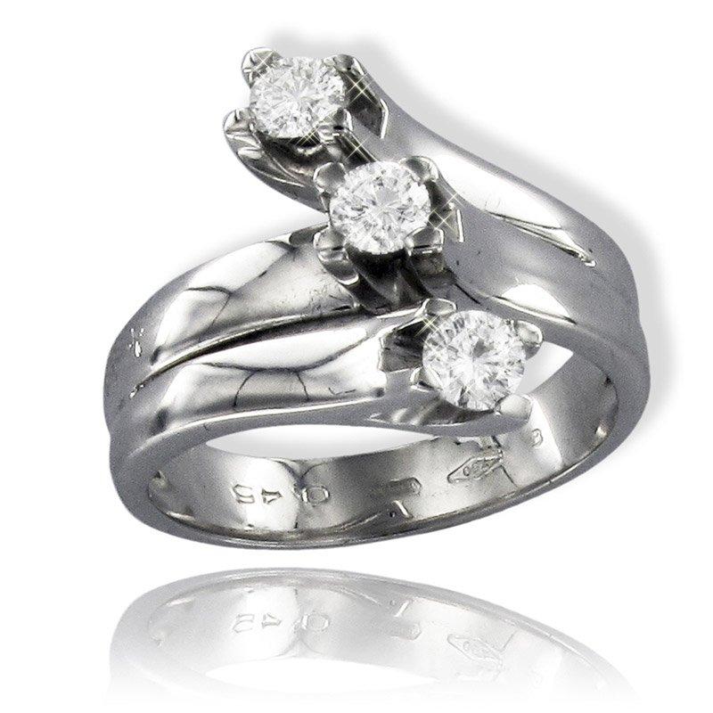 Gianni carità Anello Trology oro bianco e diamanti Codice: FA1507
