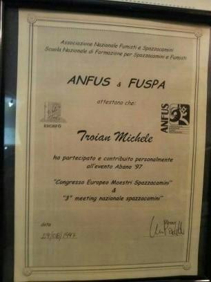 1997 Abano Terme Congresso Europeo Maestri Sapazzacamini