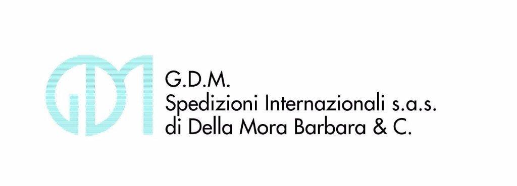 GDM SPEDIZIONI INTERNAZIONALI - LOGO