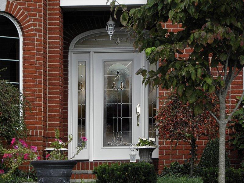 Elegant and attractive white door