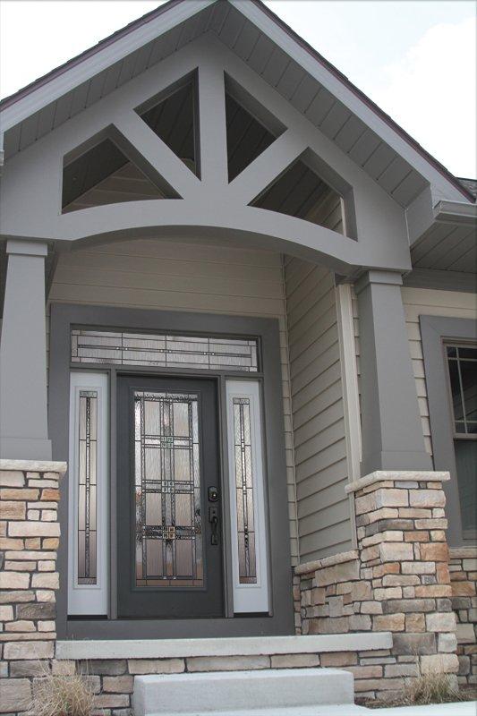 Elegant and beautiful door