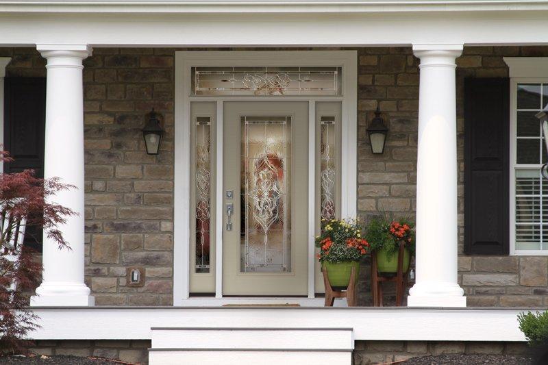 Elegant and beautiful door project