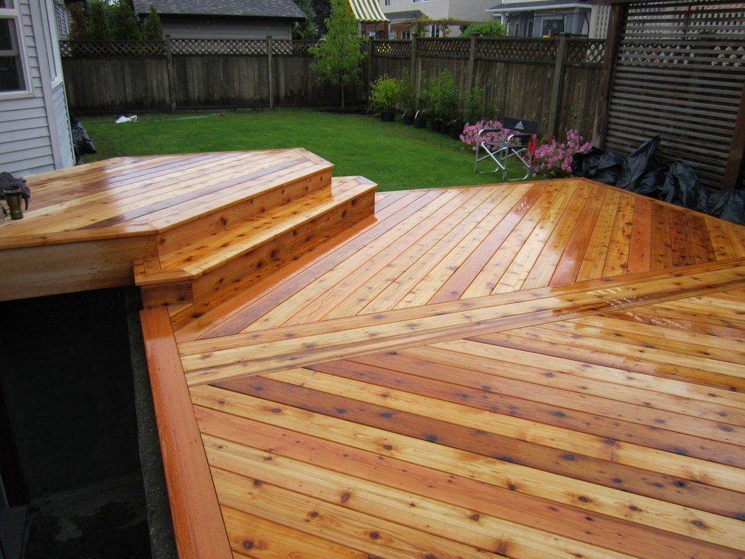 Gorgeous deck view
