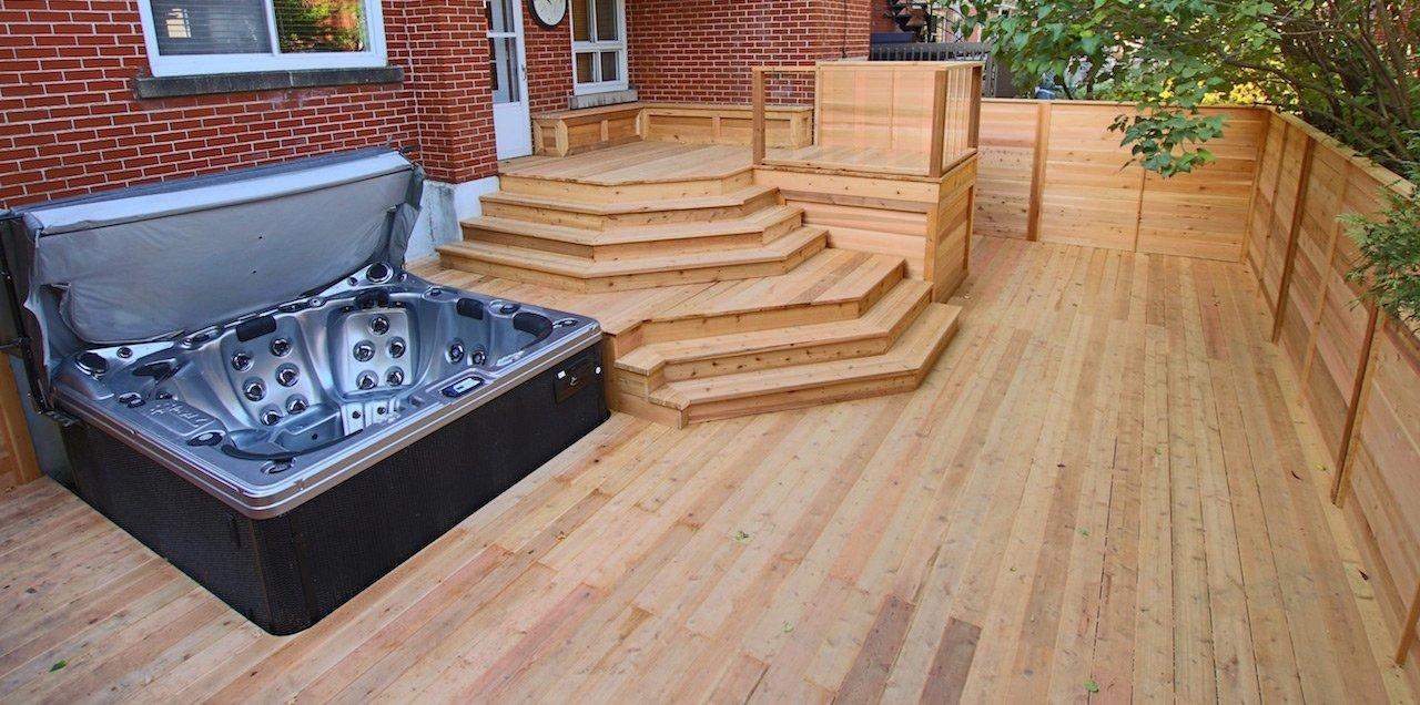 Cedar deck image