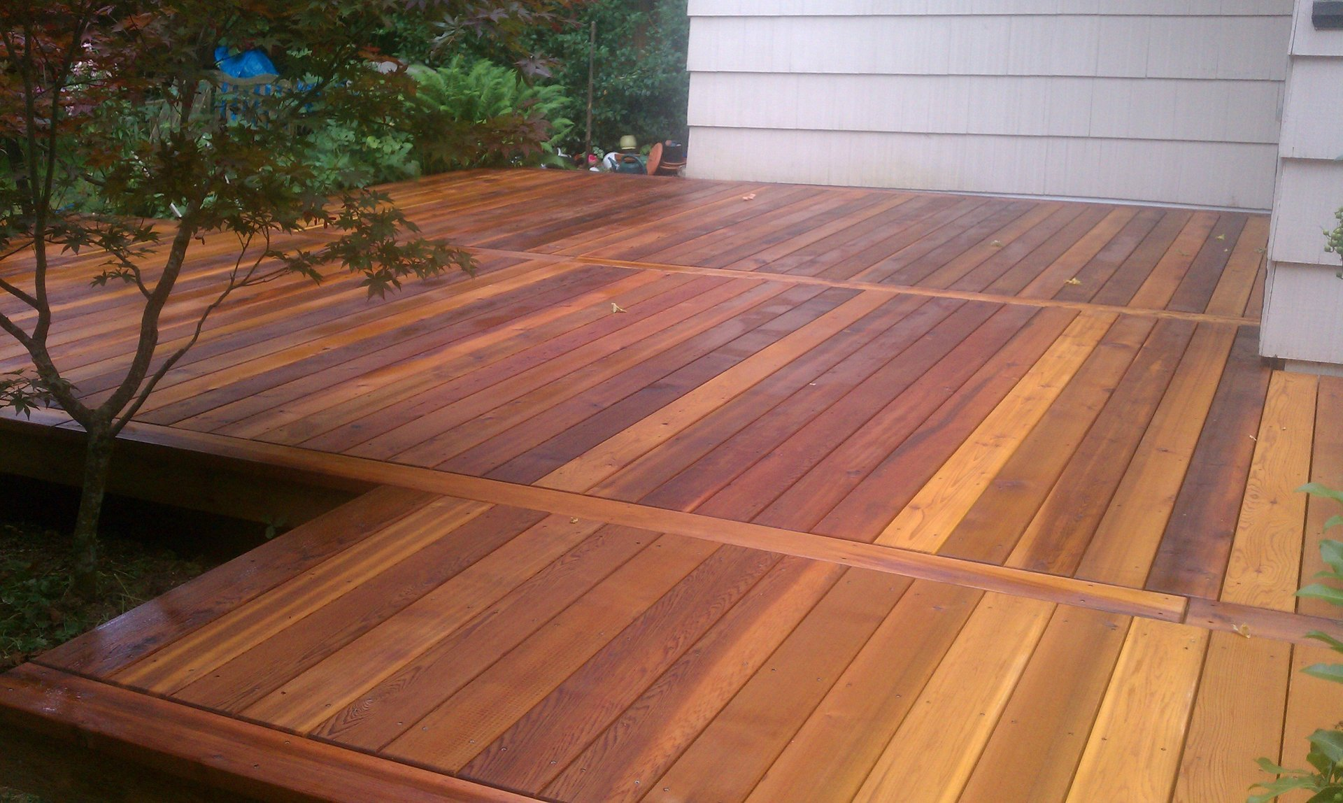 Deck renovation and upgrade project