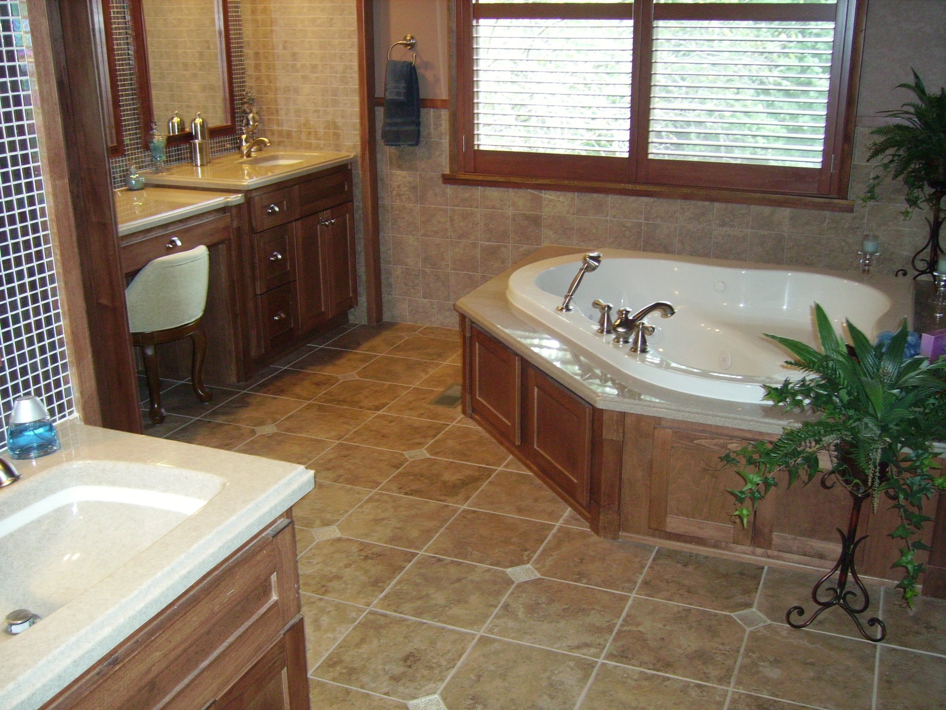 After bathroom remodeling project