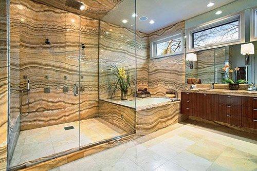 Bathroom remodeling work
