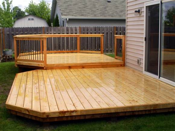 Deck installation and renovation project
