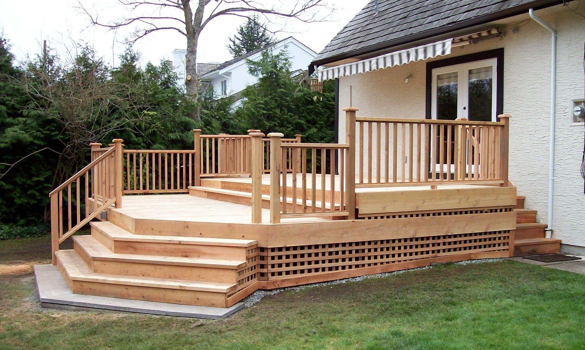 Deck renovation and installation project