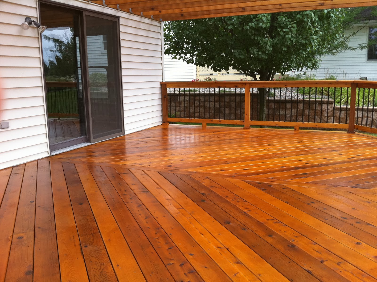 Deck upgrade project
