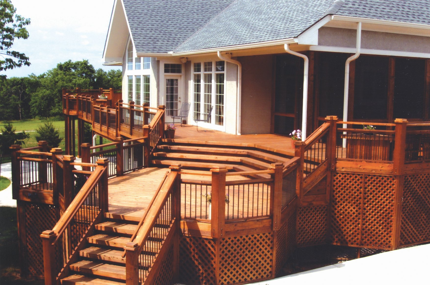 Deck project for home
