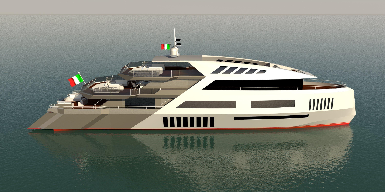 Disegno 3d di nave