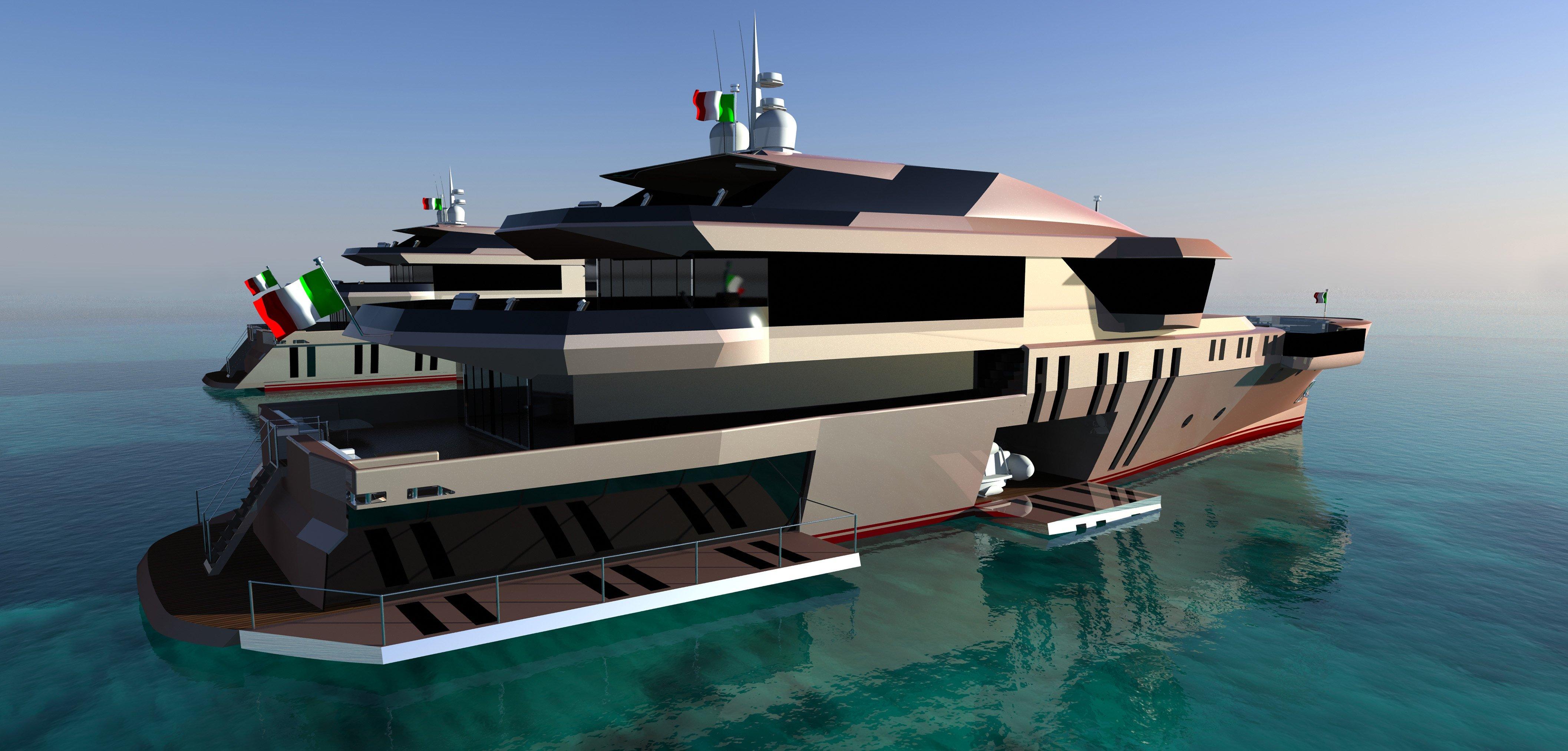 Barca di lato