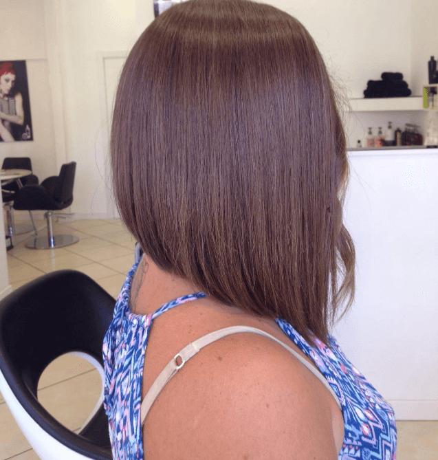 capelli taglio squadrato