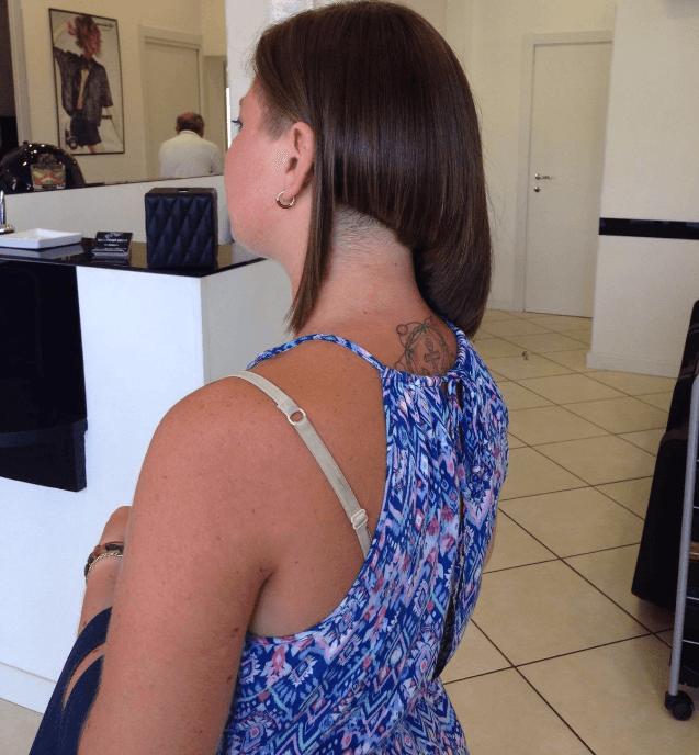 taglio corto squadrato