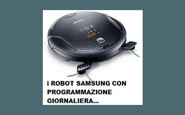 robot pulizia