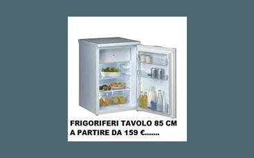 frigo tavolo