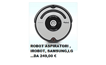 robot aspiratore