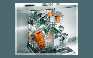lavastoviglie aperta