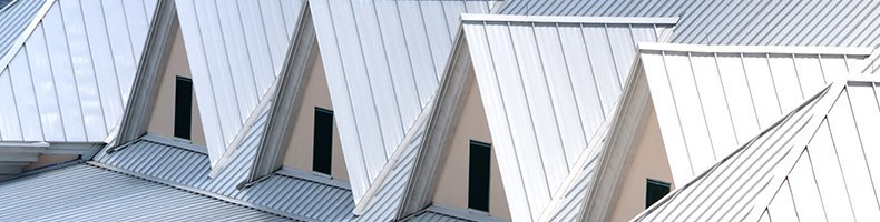 White Triangular Shaped Roof