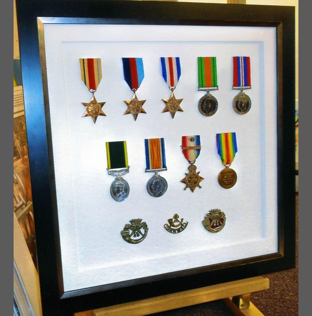 Medal frames