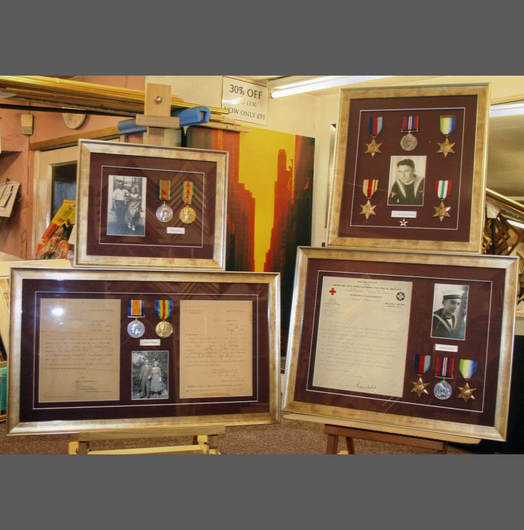Medal frame collection