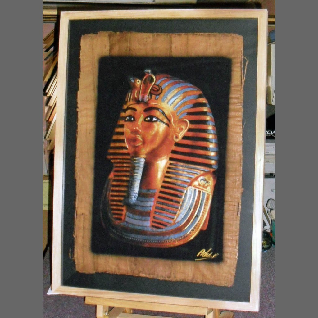 Egyptian mummy frames