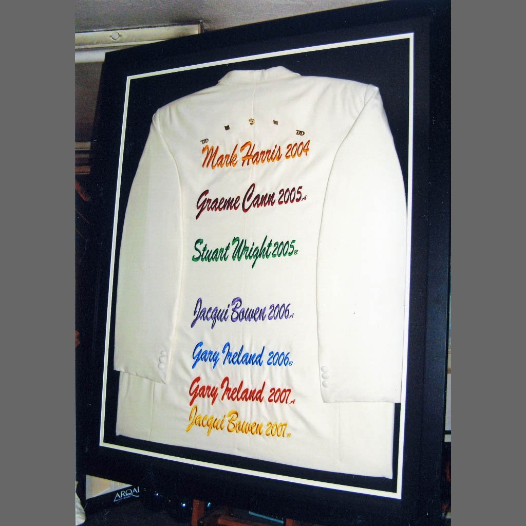 Personalised T-shirt framing