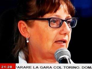 La signora Maria Grazia Burlando