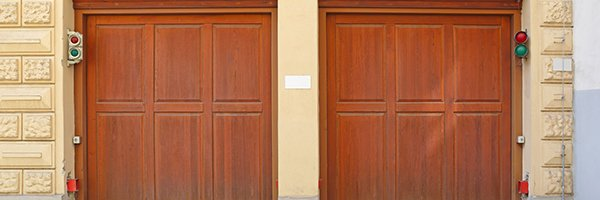 maintain a door with wooden garage door