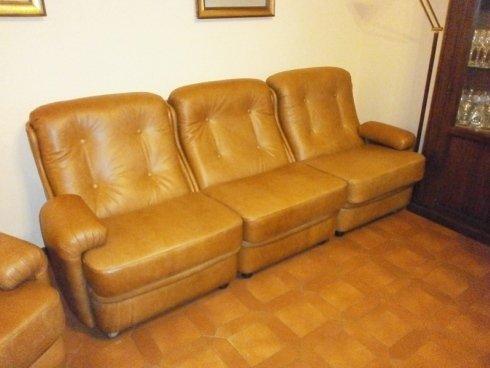 rivestimento divani in pelle anni '80