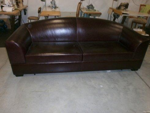 rivestimento in pelle per divani