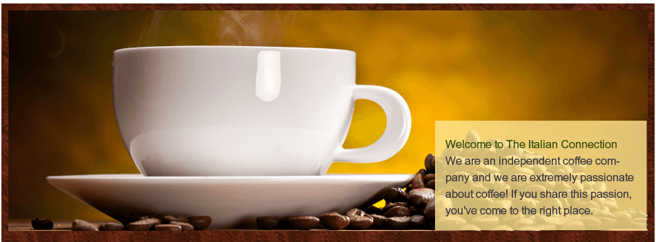 For excellent Italian coffee in Bournemouth call 01202 434 800