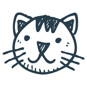 Cute cat icon