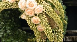 Pompe funebri, composizioni floreali funebri