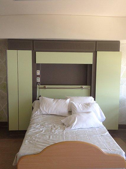 commercial bedroom