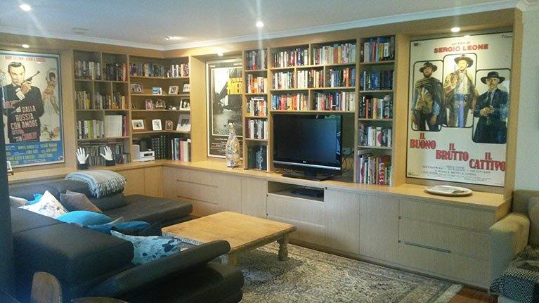 custom fitout loungeroom