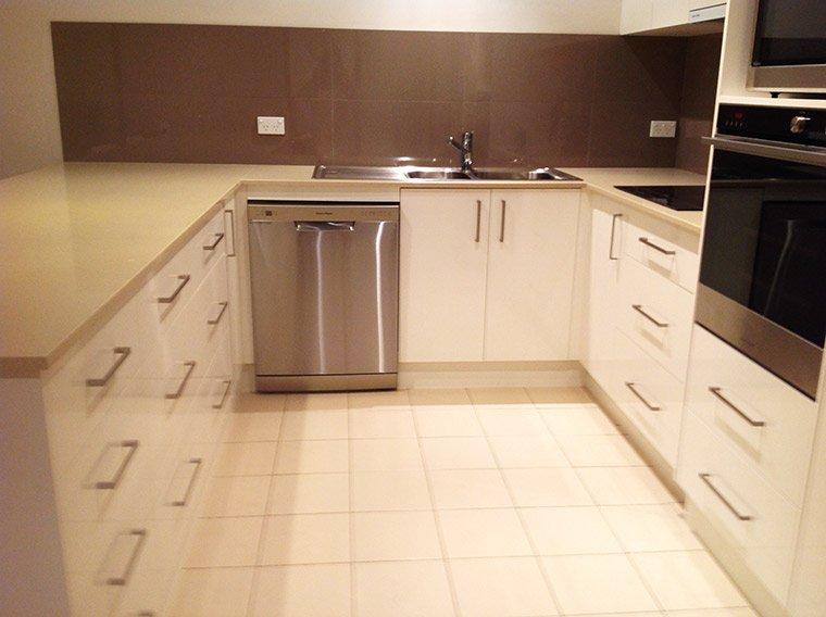 white kitchen residential