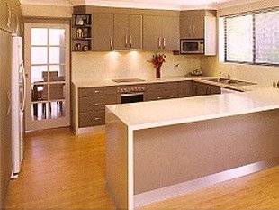 M & M Kitchens & Joinery kitchen after one